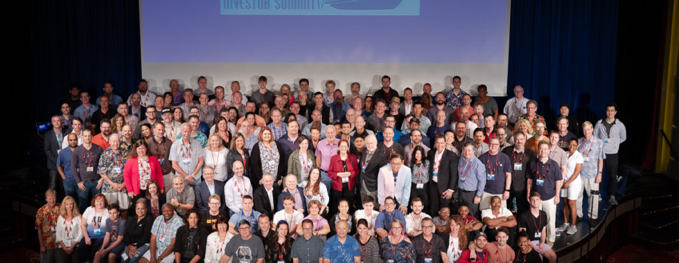 The Investor Summit attendees